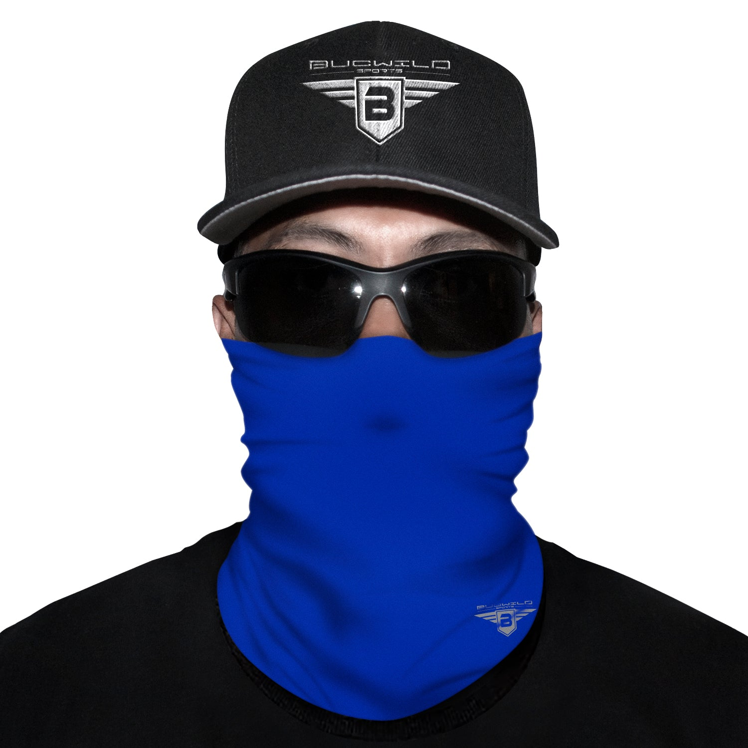 Royal Blue Neck Gaiter Face Mask