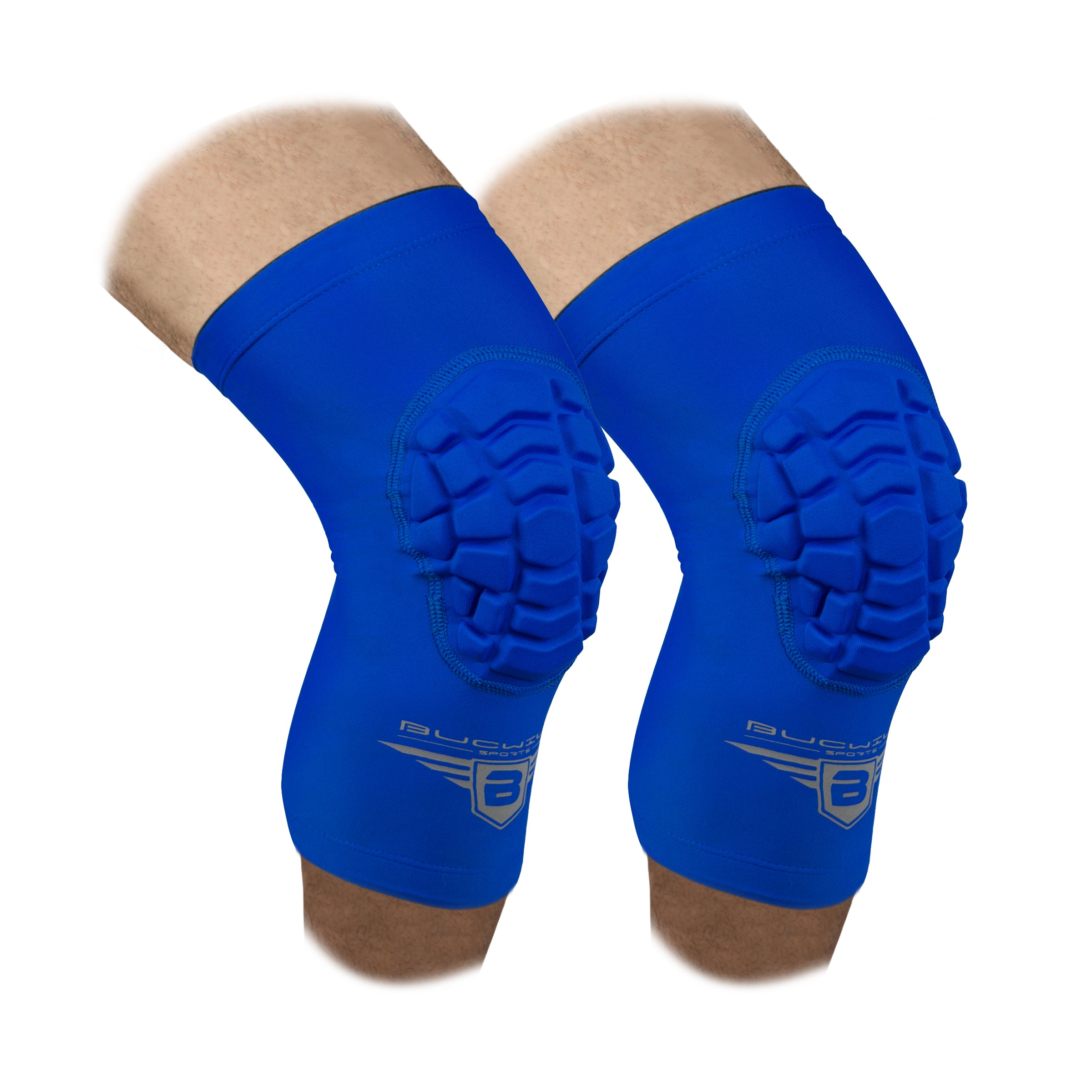 Compression Knee Pads - Royal Blue