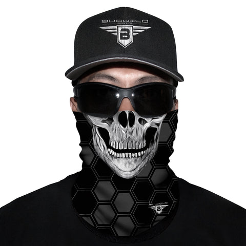 Skull Neck Gaiter Face Mask