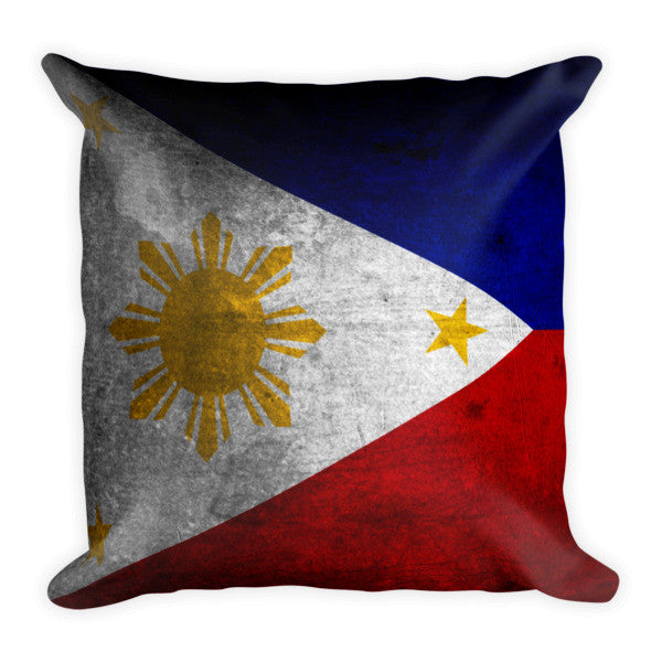 Fil-Am Flag Pillow (2 Sided)