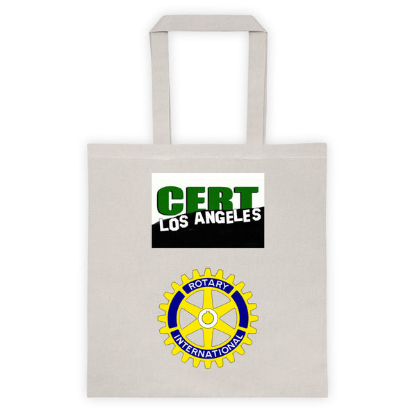 CERT and The Rotary Club Sponsored Tote bag