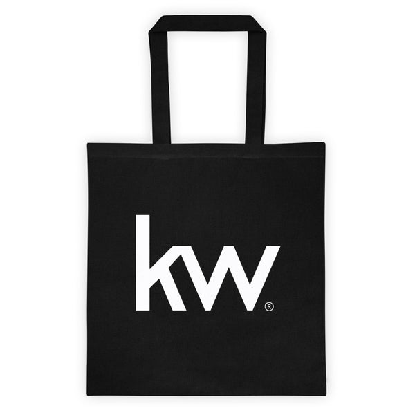 KW Black Tote bag