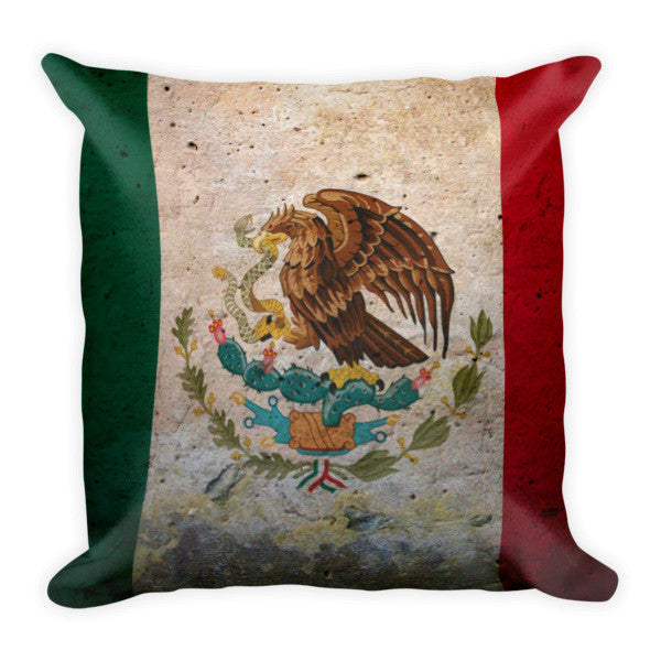 Mexico Flag Pillow