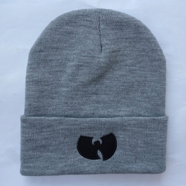 WU TANG CLAN Beanie Hats For Women Men Unisex Acrylic Black Knitted Caps  * FREE SHIPPING