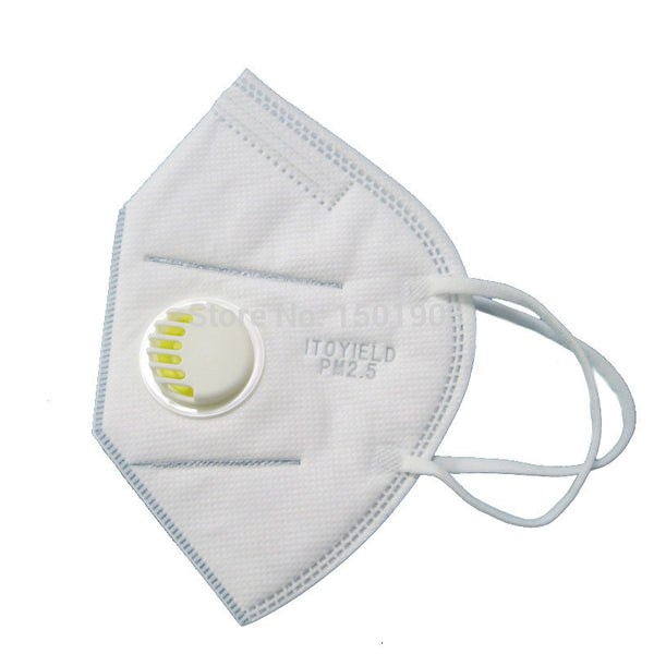 5 PC N95 disposable respirator mask with valve * FREE SHIPPING