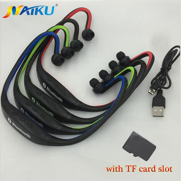Bluetooth Earphone S9 Plus SD Card Slot for Iphone, Huawei, XiaoMi Phone