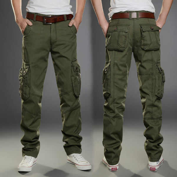 Tactical Cargo Pants, Slim multi-pockets * FREE SHIPPING
