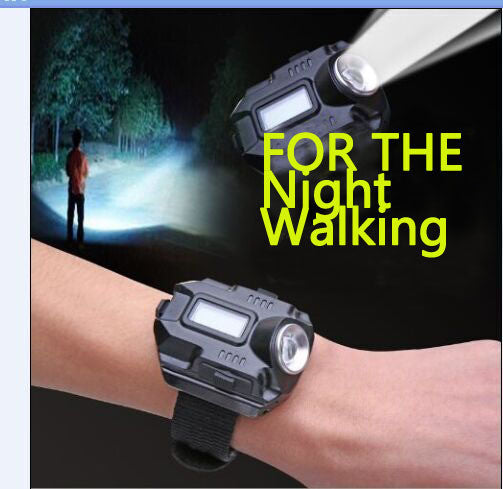 Tactical Rechargeable Wrist Watch Flashlight * FREE SHIPPING