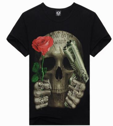 Iron Maiden 3D Print T-Shirt * FREE SHIPPING