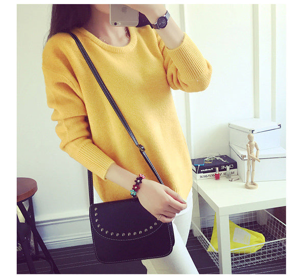 Thick Pullover Sweaters / Thick Knit Sweater 8 colors * FREE SHIPPING
