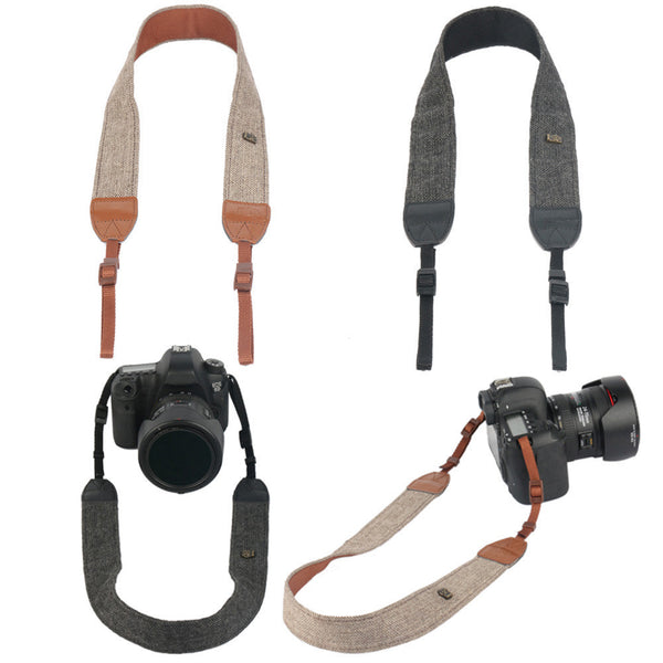 Vintage Shoulder Neck Strape Durable Cotton Camera Strap for DSLR Cameras  * FREE SHIPPING