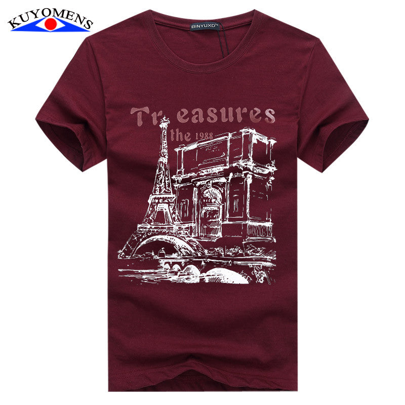 Men Paris printed Tee * FREE SHIPPING