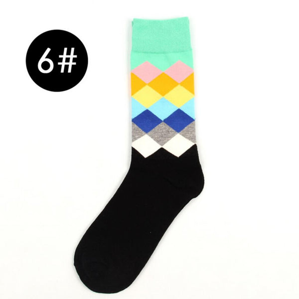 Male Socks Gradient Color  * FREE SHIPPING