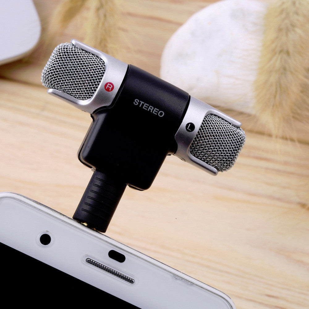 Mini Stereo Microphone * FREE SHIPPING