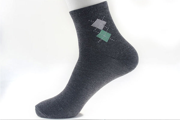 Double Rhombus 5 Colors Style Blending Socks   * FREE SHIPPING