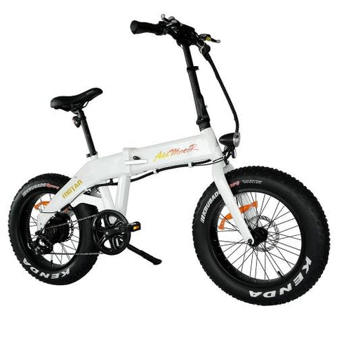 Addmotor MOTAN M-160 Electric Bicycle Bike 750W Power Folding Strong Frame 20 Inch Fat Tire E-bike - With Free Gift