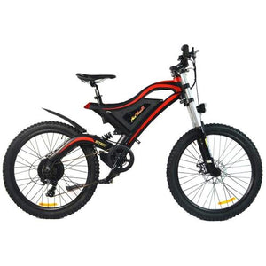 AddMotor HITHOT H5 Full Suspensension 48 Volt Electric Mountain Bike