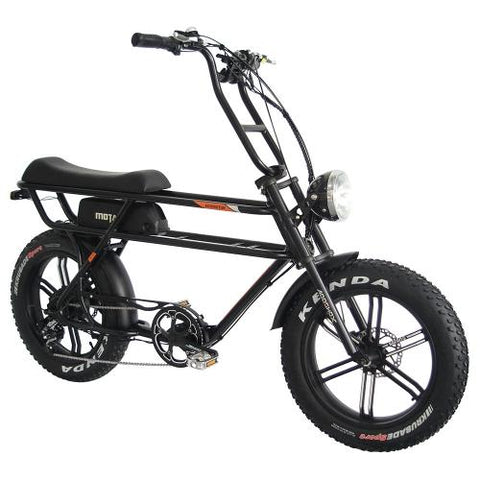 Addmotor MOTAN M-70 750 Watt Retro Electric Cruiser Bike Mini Motobike