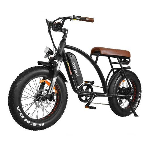 Image of AddMotor MOTAN M-60 Retro Cruiser 48 Volt Fat Tire Electric Bike