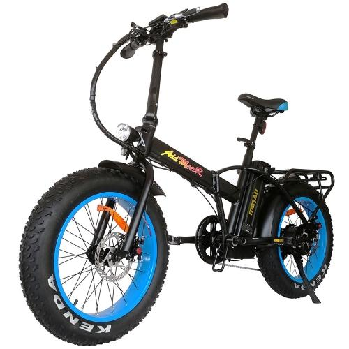 Addmotor MOTAN Electric Bike Bicycle 500W 20 Inch Folding Fat Tire Cruiser E-bike M-150