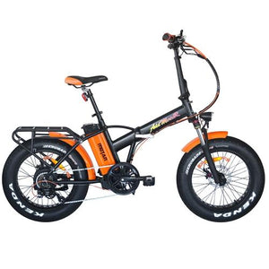 AddMotor MOTAN M-150 P7 Folding 48 Volt Fat Tire Electric Bike