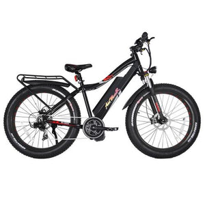 Addmotor MOTAN Electric Bike Bicycle 1000W Mid Drive Bafang Motor 48V 17.5AH 26 Inch Fat Tire E-bike M-5800