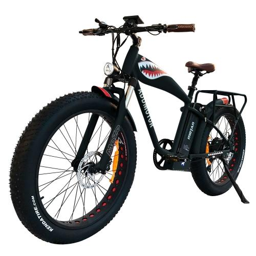 Addmotor MOTAN 1000W Powerful Electric Mountain Bike Bicycle Flying Tiger 14.5AH 26 inch Fat Tire E-bike M-5500