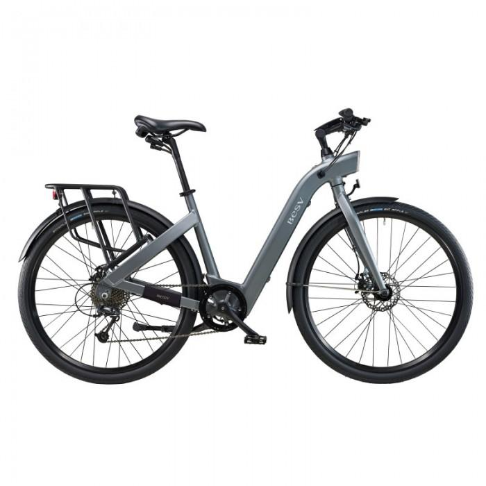 BESV | CF1 700c Gray Commuter Electric Bicycle