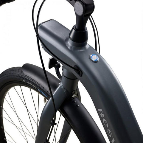 Image of BESV | CF1 700c Gray Commuter Electric Bicycle