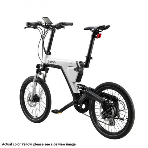 Image of BESV | PSA1 Yellow City Electric Bicycle