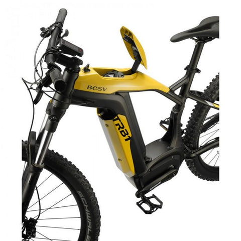 Image of BESV | TRB1 20mph XC L 490 Yellow MTB Electric Bicycle