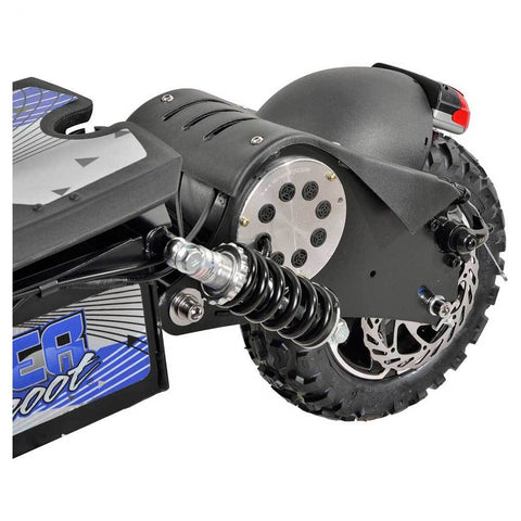 Image of UberScoot 1600w rear wheel motor and shocks