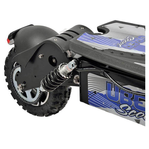 Image of UberScoot 1600w rear wheel sprocket and shocks