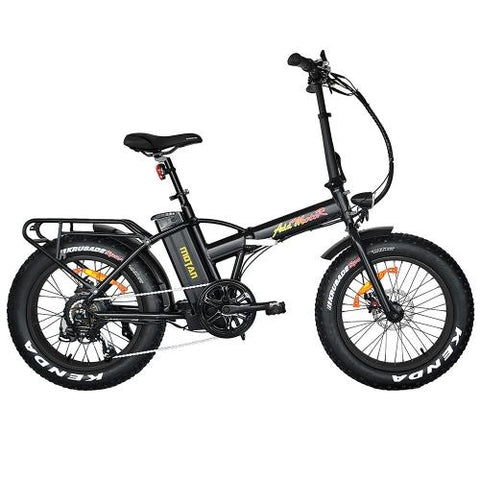 Image of Addmotor MOTAN Electric Bike Bicycle 500W 20 Inch Folding Fat Tire Cruiser E-bike M-150