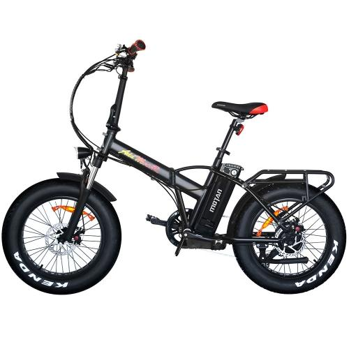 Addmotor MOTAN M-150 P7 750W Power Folding Electric Fat Bike Bicycle with Front Fork