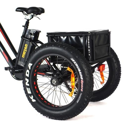 Addmotor MOTAN Electric Trike 750W Motor 14.5AH 24 Inch 3 Wheel Fat Tire Cargo E-Trike M-350 P7