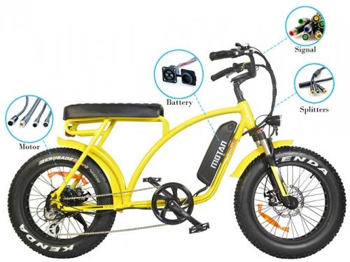 AddMotor MOTAN M-60 Retro Cruiser 48 Volt Fat Tire Electric Bike