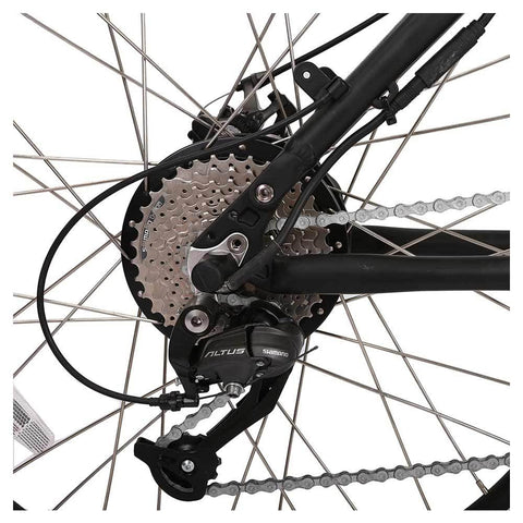 Image of baja 48v folding feature rear sprocket and derailleur