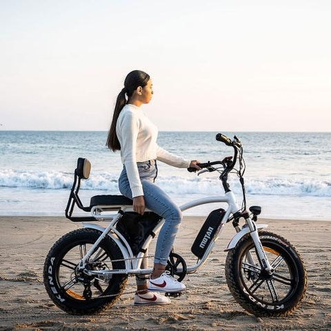 Image of Addmotor MOTAN M-60 L7(R7) 750 Watt Electric Beach Cruiser Bicycle Mini Motobike