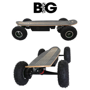 Fiik Big Daddy 30ah Enduro Lithium - All Terrain Skateboard