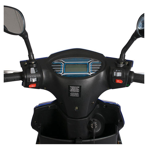 Image of cabo cruiser 48v feature rider view handlebars