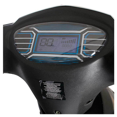 cabo cruiser 48v feature speedometer