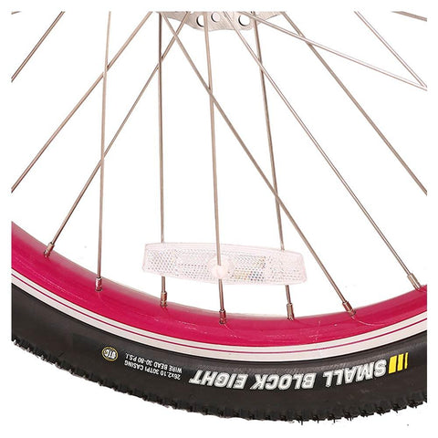 Image of catalina beach 48v feature pink bike rim
