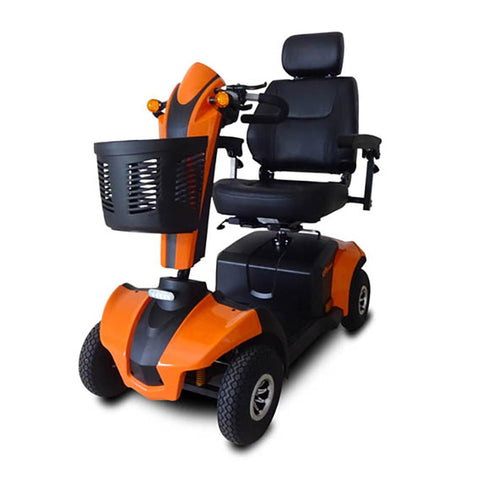 cityrider front left angle view orange