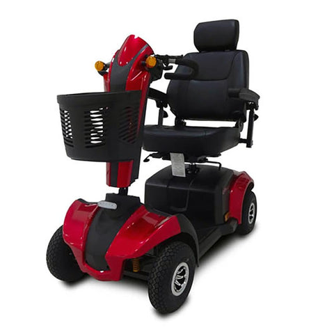 Image of cityrider front left angle view red