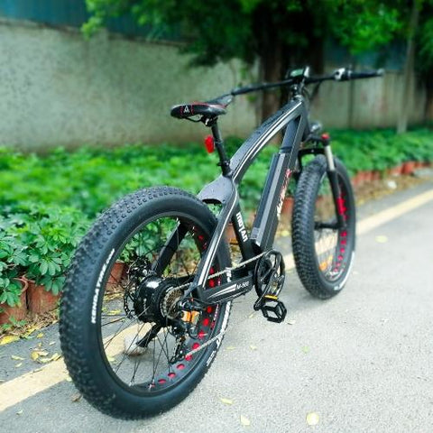 Image of Addmotor MOTAN M-560 P7 750W Front Suspension 26 Inch Fat Tire Electric Bike Bicycle
