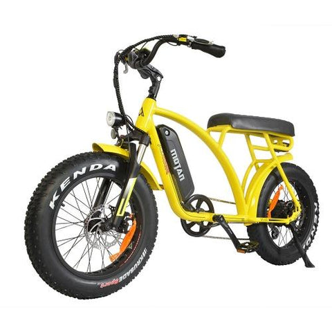 Image of Addmotor MOTAN Electric Bike Cruiser Bikes 500W Fat Tire Retro E-bike M-60 + Backrest Free Gift