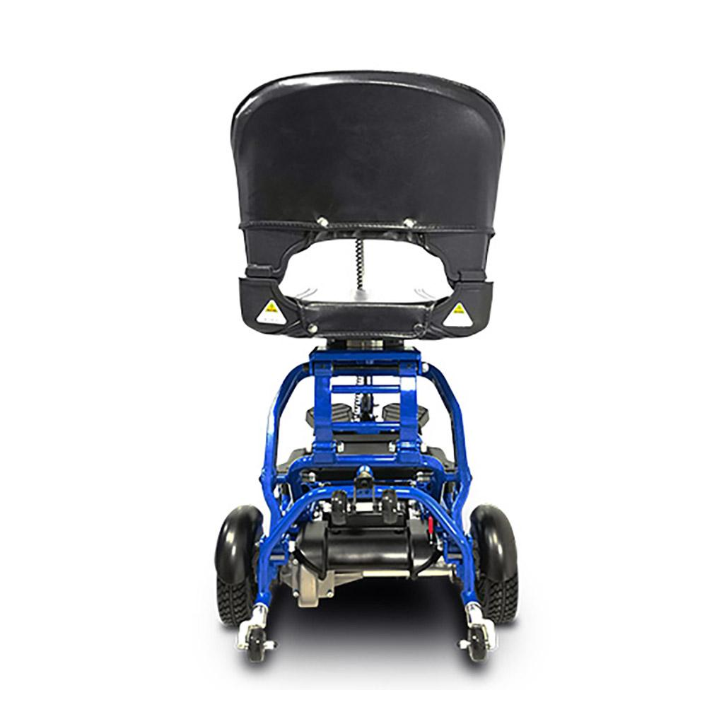 EV Rider MiniRider blue rear view
