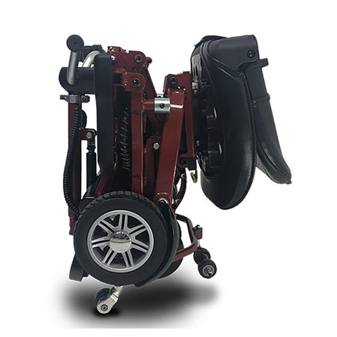 Image of EV Rider MiniRider folded left side view