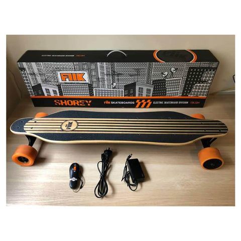 Image of fiik shorey unboxed with components